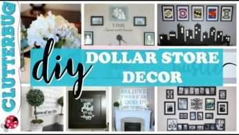 Dollar Store DIY Decor Ideas