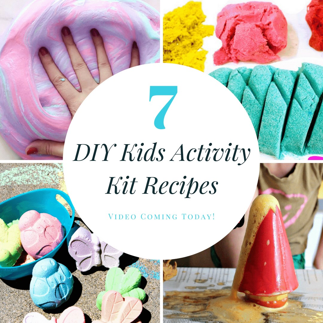 7 DIY Kids Activity Kit Recipes
