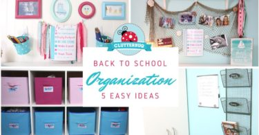 Back to School Organization – 5 Lazy Mom Hacks