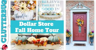 Fall Home Tour 2018 – Dollar Store Decorating Ideas