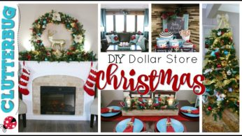 DIY Dollar Store Christmas Decor – Decorate With Me