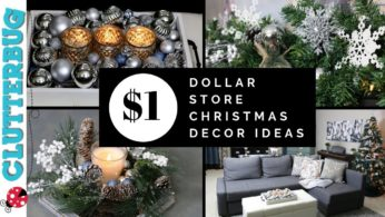 Dollar Store Christmas Decor Ideas – Quick and Cheap!