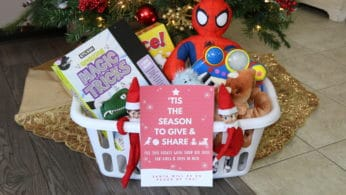 Declutter and Give back with your Elf on the Shelf!