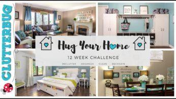 "Story Time and 12 Week ""Hug Your Home"" Challenge!"