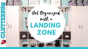 Organize Shoes, Coats & Keys with a Landing Zone – Week 8 – Hug Your Home Challenge