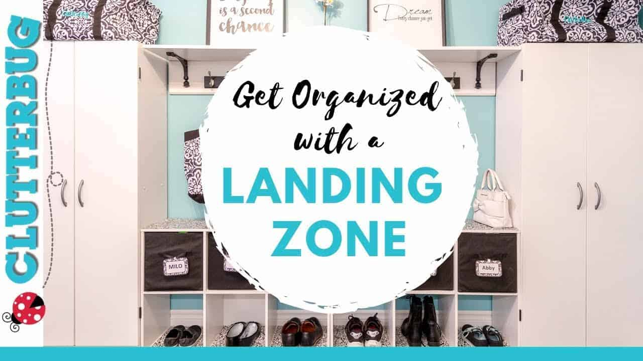 Organize Shoes, Coats & Keys with a Landing Zone - Week 8 - Hug Your Home Challenge