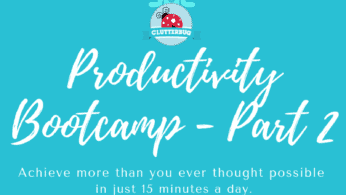 How to form new habits – Productivity Bootcamp Part 2