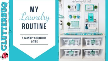 My Simple Laundry Routine – 5 Laundry Shortcuts & Tips