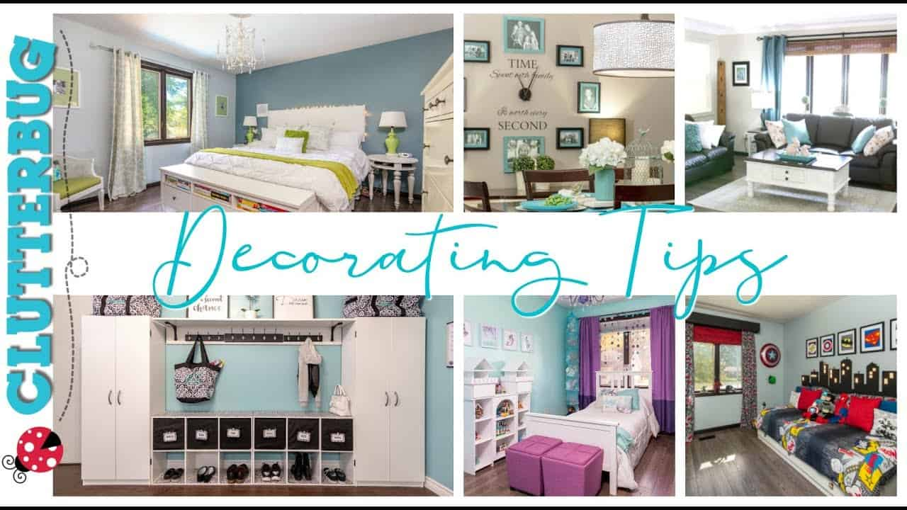 Decorating Tips - Week 12 - Hug Your Home Challenge