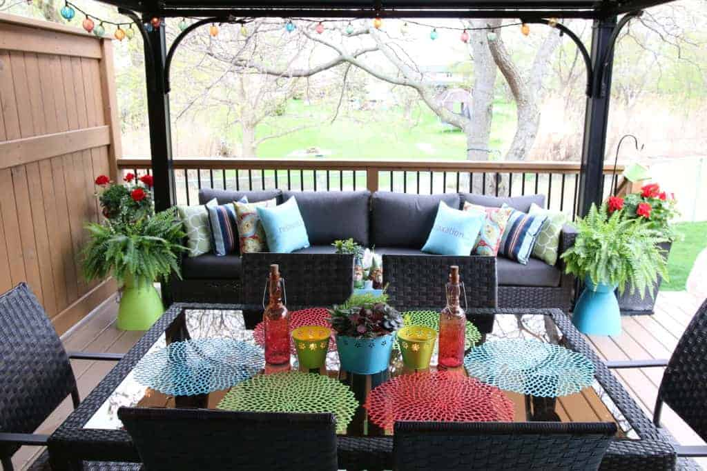 Dollar Store Outdoor Decor Ideas