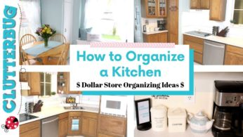 How to Organize a Kitchen Fast – 💲Dollar Store Organizing Ideas 💲