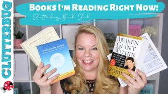 Books I'm reading  📚 Clutterbug Book Club & Review June 2019 📚