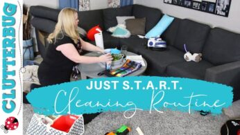 """My """"Just S.T.A.R.T.""""  Speed Cleaning Routine"""