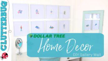 Dollar Tree Home Decor – DIY Gallery Wall