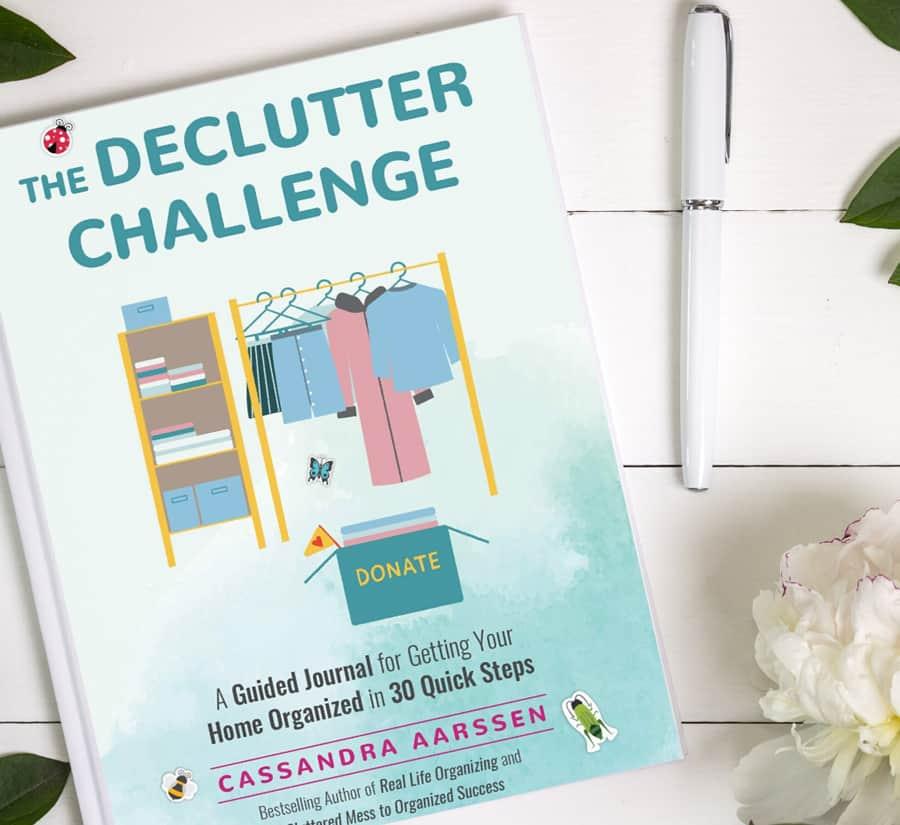 The Declutter Challenge by Cassandra Aarssen