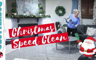 My Christmas Speed Clean Routine