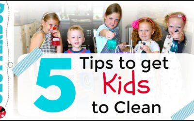 5 Tips To Get Kids To Clean Up!