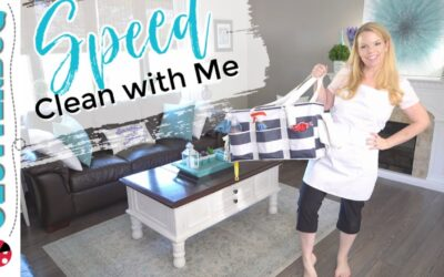 🧹5 Speed Cleaning Tips – Speed Clean with Me 🧽