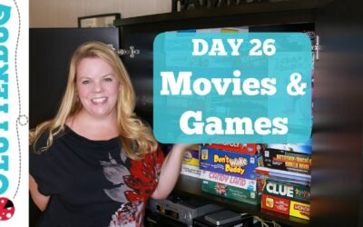 Day 26 – Movies and Games – 30 Day Decluttering Challenge