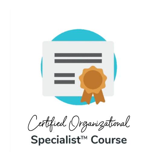 Organizational Specialist Course