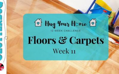 Speed Clean Floors and Carpets – Week 11 – Hug Your Home Challenge