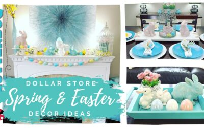 Easter and Spring Decorating Ideas 2020 – Dollar Store Decorate with Me 🐰