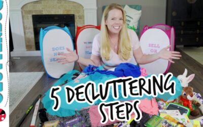 5 Decluttering Steps for a Clutter-Free Home