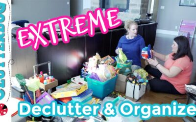 Extreme Declutter and Organize with Me – Messy Makeover #3