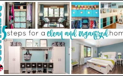 5 Steps to a Clean and Clutter Free Home