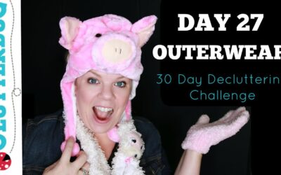 Day 27 – Outerwear – 30 Day Decluttering Challenge
