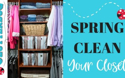 Spring Clean your Closet – Extreme Declutter!