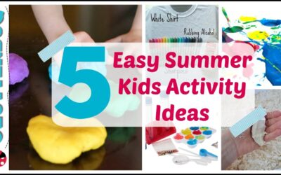 5 Easy Summer Activity Ideas for Kids – Dollar Tree Summer Fun