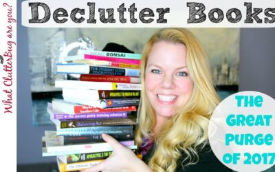 Declutter Books With Me – Great Purge 2017