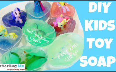 DIY – How to make Toy Soap for Kids or you!