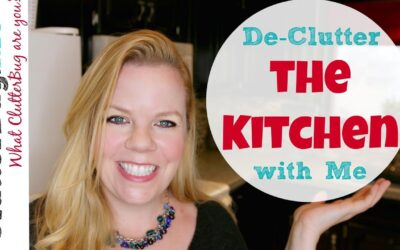 Declutter the Kitchen with Me