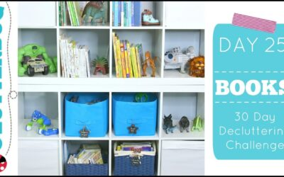Day 25 – Books – 30 Day Decluttering Challenge