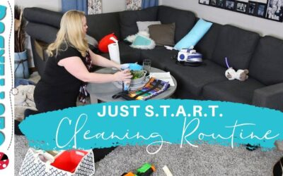 "My ""Just S.T.A.R.T.""  Speed Cleaning Routine"