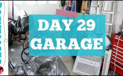 Day 29 – Garage – 30 Day Decluttering Challenge