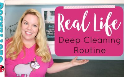 MY (REAL LIFE) DEEP CLEANING ROUTINE