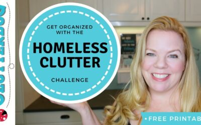 "Get Organized and Declutter with the ""Homeless Clutter"" Challenge"