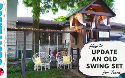 How to Update an Old Wooden Swing Set (for Teens or Adults)