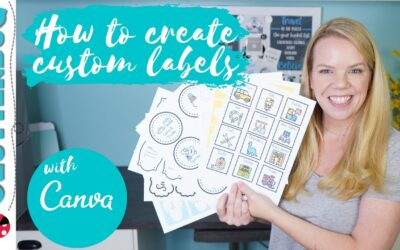 How to Make Custom DIY Labels for your Home using Canva