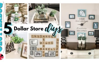 5 Dollar Store DIY Ideas (that you actually want in your home)