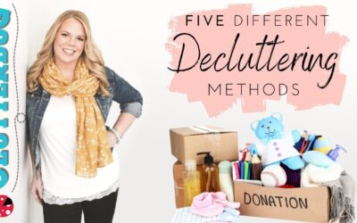 5 Different Decluttering Methods – Which one do you like best?