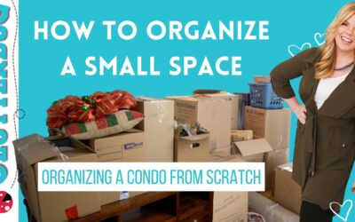 How to Organize a Small Space – Organizing a Condo from Scratch