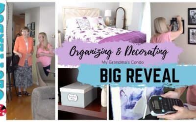 Organizing and Decorating my Grandma's Condo – Big Reveal!