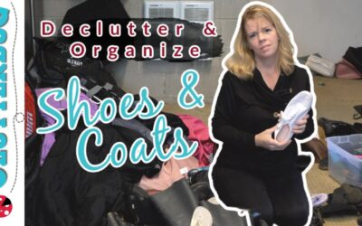 Declutter & Organize Shoes and Coats – Holiday Home Challenge Week 2