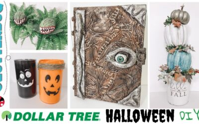 Easy Dollar Tree Halloween DIYs 🎃