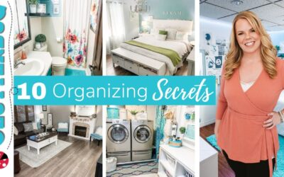 10 Secrets for a Clean and Organized Home