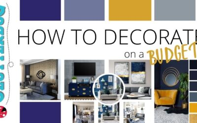 How to Decorate on a REALLY Small Budget (& DIY thrift store flips)
